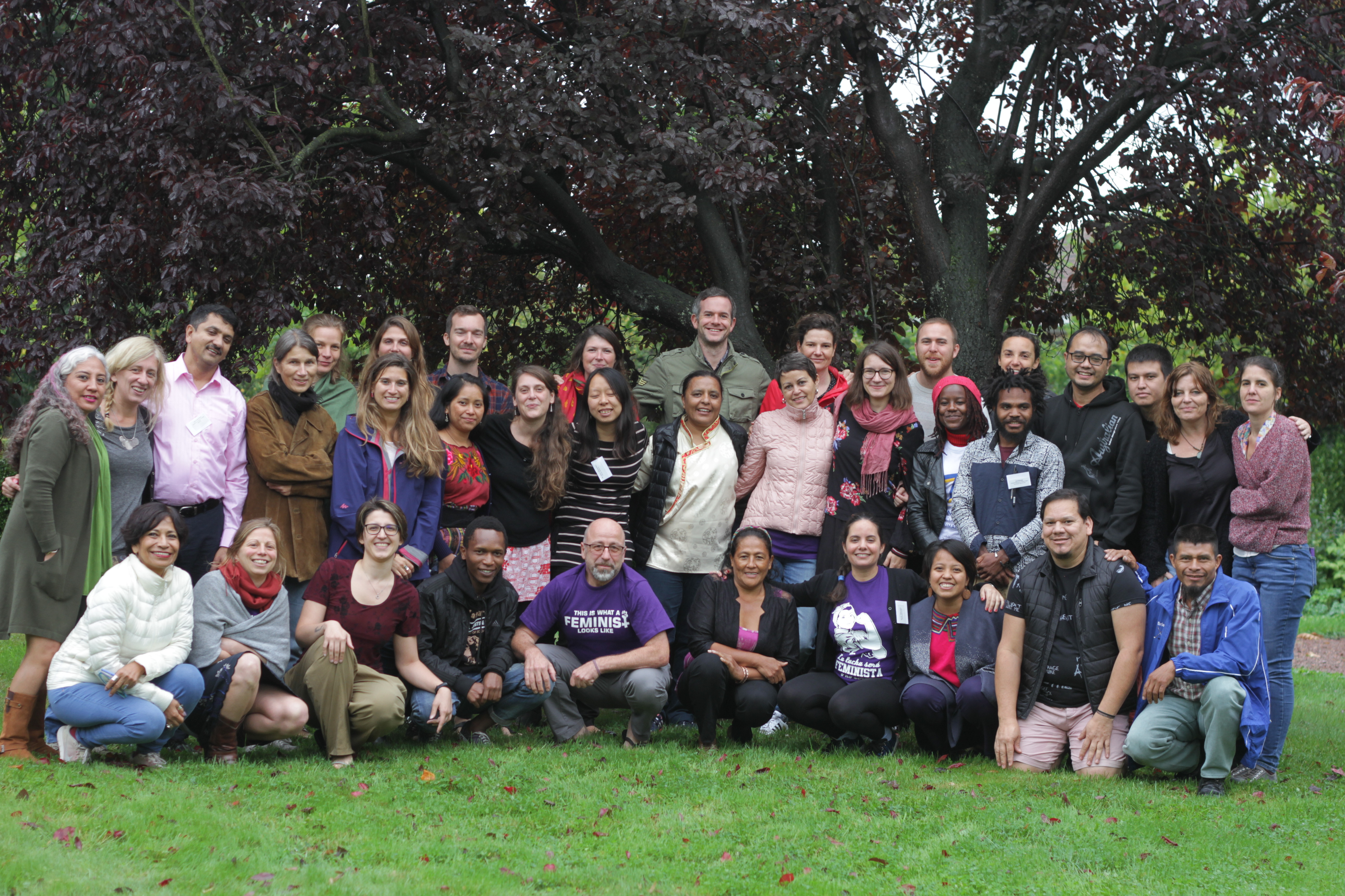 PBI 20 Anniversary HRD Declaration group photo in Brussels Sept 2018