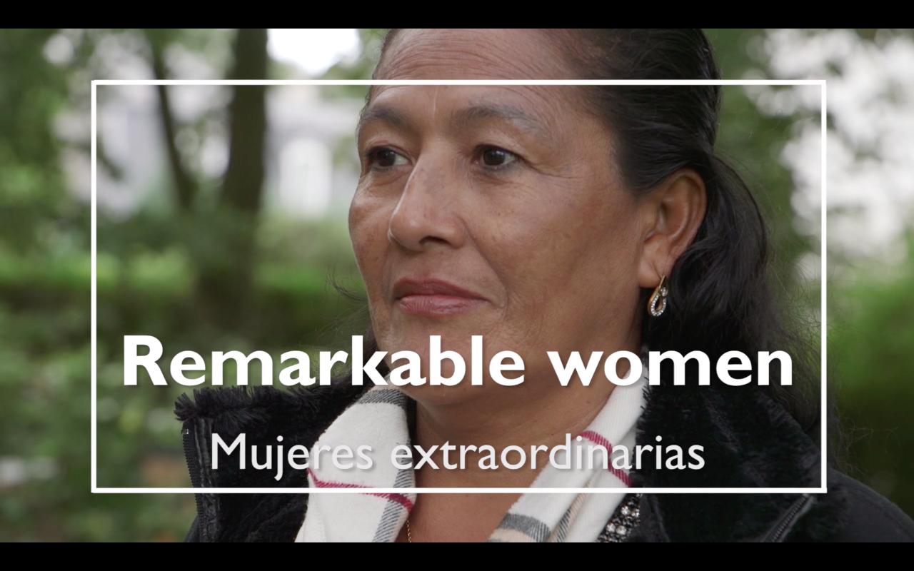 Remarkable Women María Rosa Santamaría