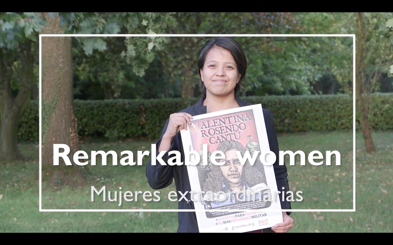 Remarkable Women Sandra Alarcón