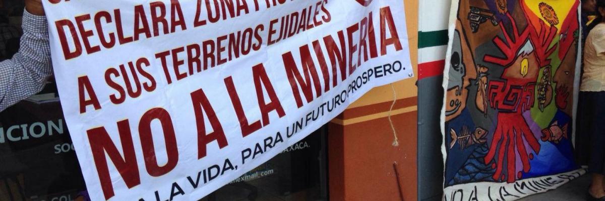 NO a la Mineria Mexico
