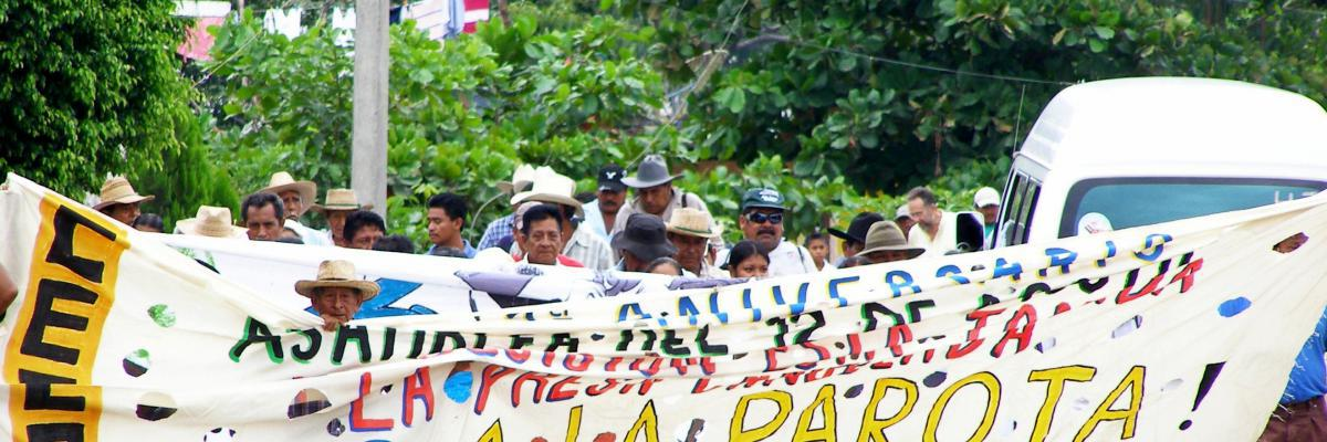 Criminalization of La Concepción Dam Opponents