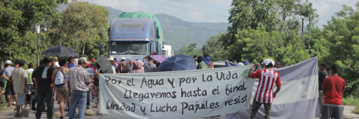 The struggle for life in Honduras