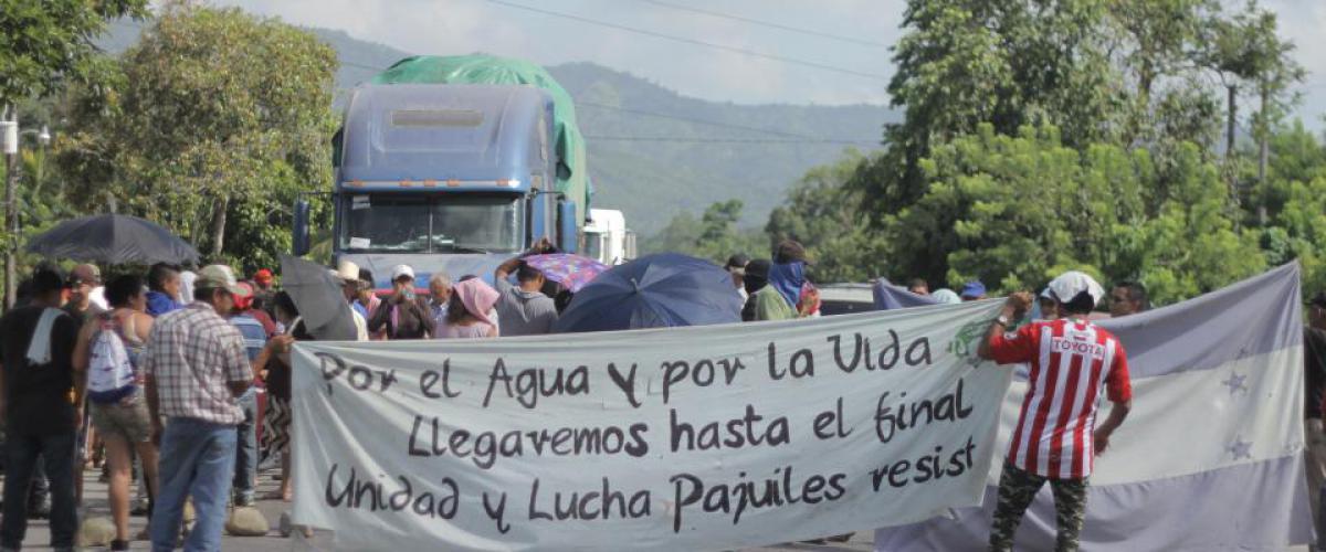 Honduras 2019 MADJ Struggle