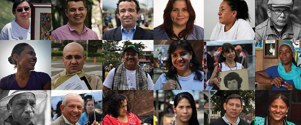 Portraits of human rights defenders