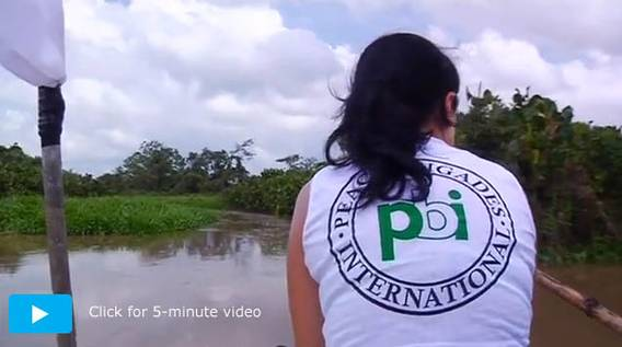 PBI volunteer: Click for video!
